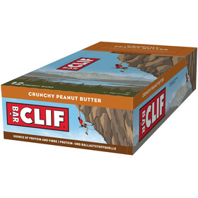 CLIF Bar Energy Bar Box 12 x 68 g, Crunchy Peanut Butter